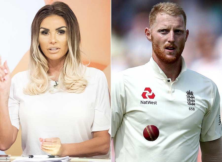 Katie Price Slams Cricketer Ben Stokes After Harvey Price Impression