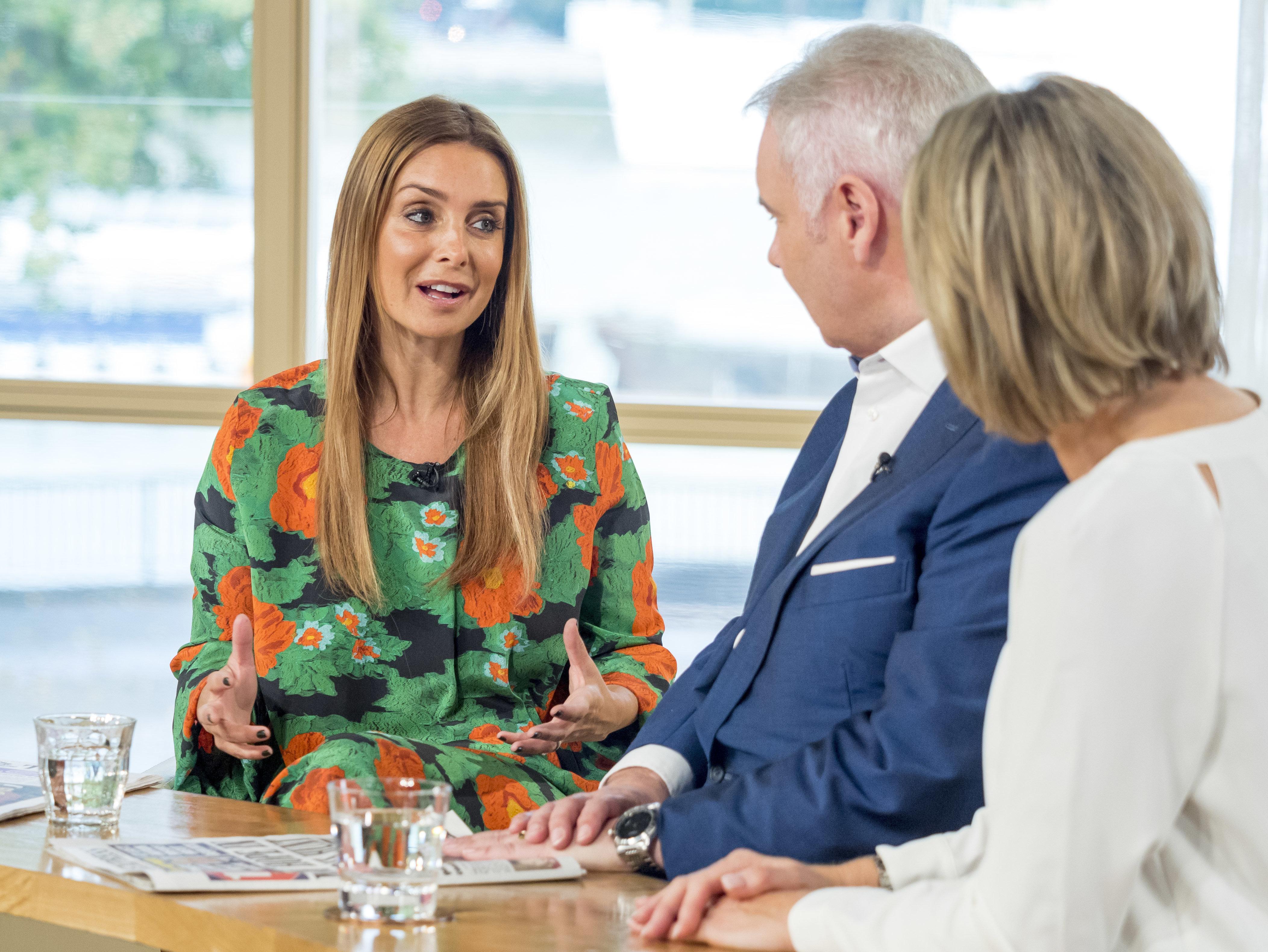 Louise Redknapp addresses split rumours on This Morning