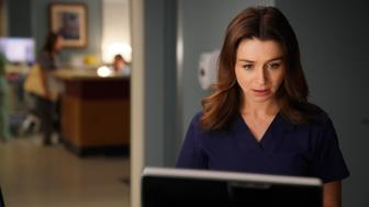 GREY'S ANATOMY - 'Get off on the Pain' - Meredith struggles to come up with a new plan for Owen's sister. Jo makes a surprising choice regarding Alex, and Andrew's sister's controversial research leads to a shocking discovery, on 'Grey's Anatomy,' THURSDAY, SEPTEMBER 28 (9:00-10:00 p.m. EDT), on The ABC Television Network. (Mitch Haaseth via Getty Images) CATERINA SCORSONE