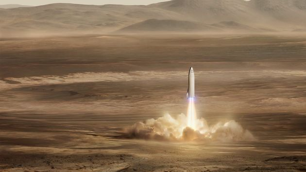 Elon Musk Says SpaceX Will Now Start Working On 'Big F***ing
