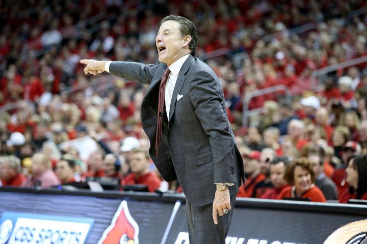 "Louisville basketball coach Rick Pitino was ""effectively fired"" on Wednesday, his lawyer said, a day after his program was en"