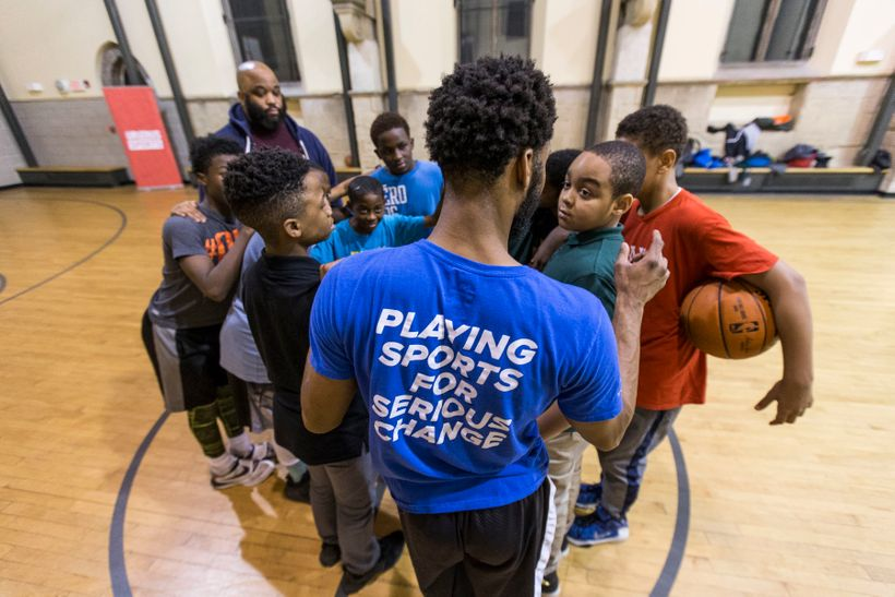 Up2Us Sports inspires youth to achieve their potential by providing them coaches who are trained in positive youth developmen