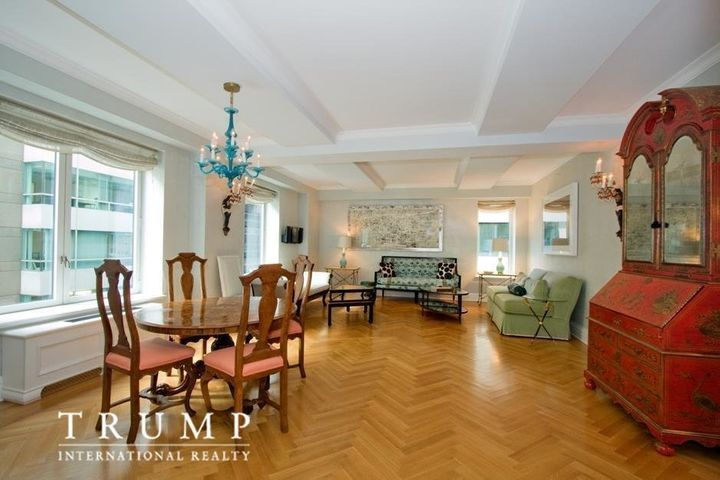 "Trump's 1,549 square-foot unit has ""<a href=""https://www.trumpinternationalrealty.com/listings/502-park-avenue-new-york-"