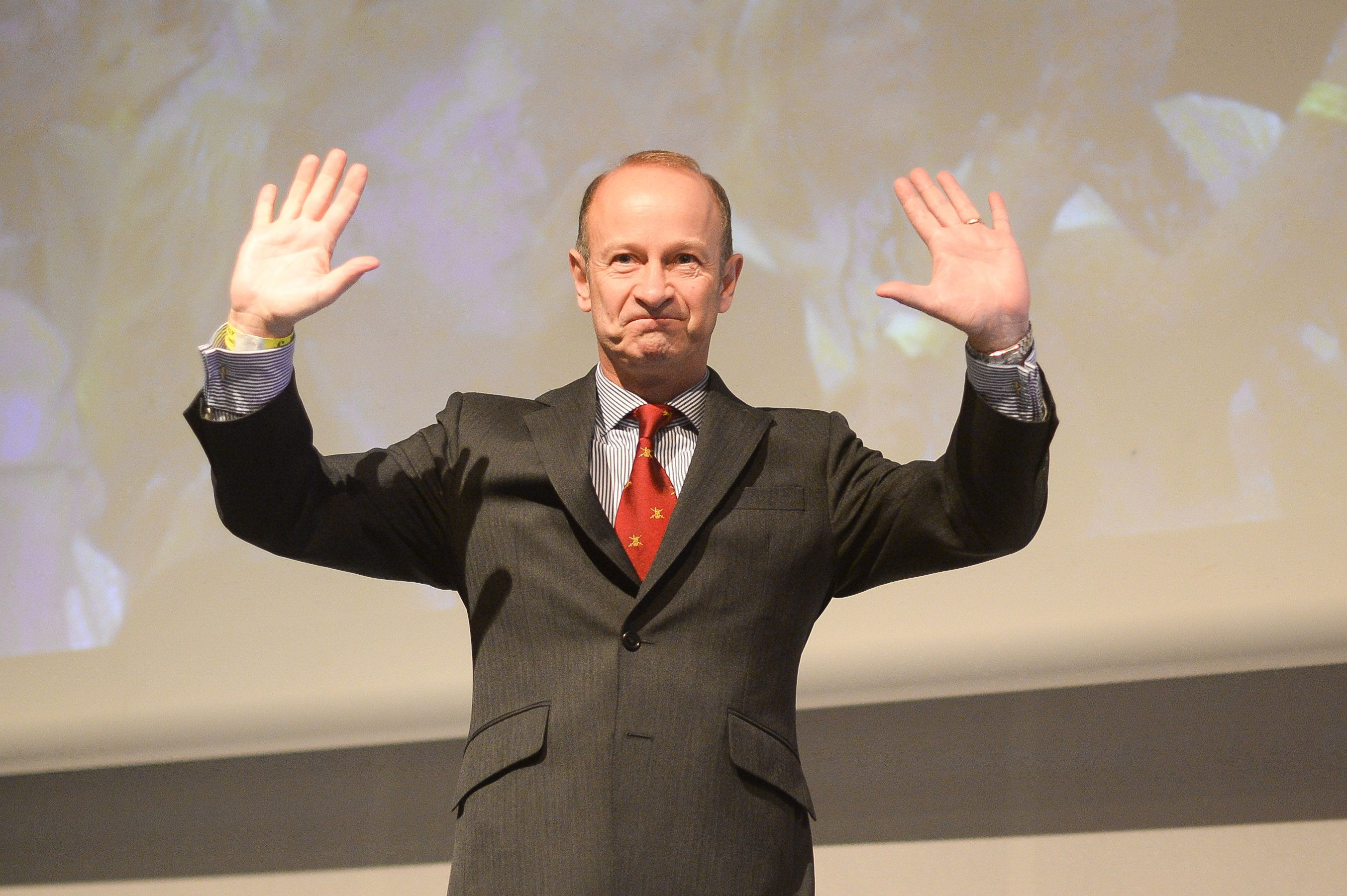 Ukip elects Henry Bolton as the party's new leader