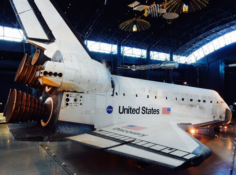 Shuttle Discovery, Steven F. Udvar-Hazy National Air and Space Museum, Chantilly VA
