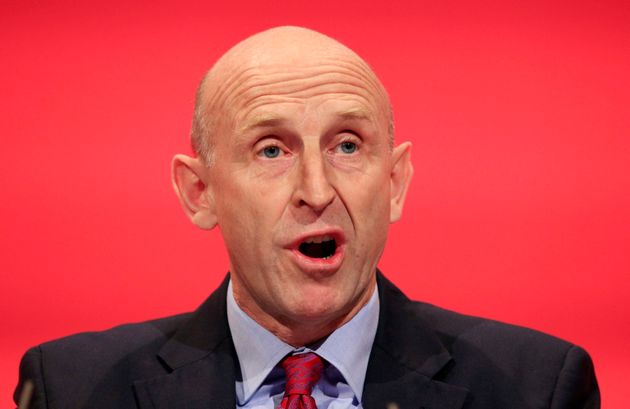 Shadow Housing Minister John Healey was accused of 'staggering