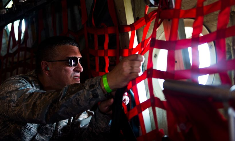 """""""This is personal to me."""" Col. Michael A. Valle, Director, Joint Air Component Coordination Element for 1st Air Force (Air Fo"""