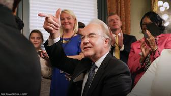 Tom Price has resigned from his role as Heath and Human Services Secretary