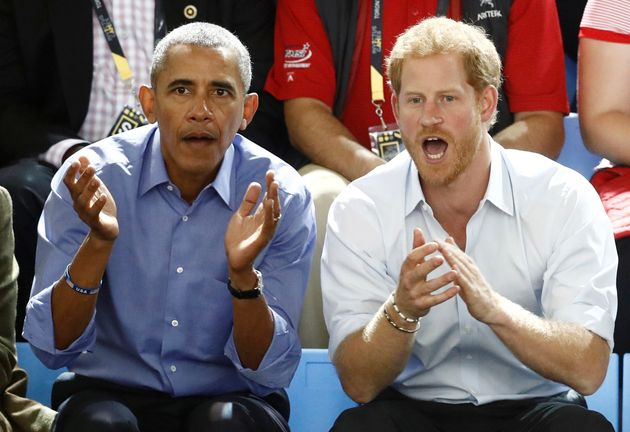 Prince Harry Hanging With Obama And Biden At Invictus Games Will Warm Your