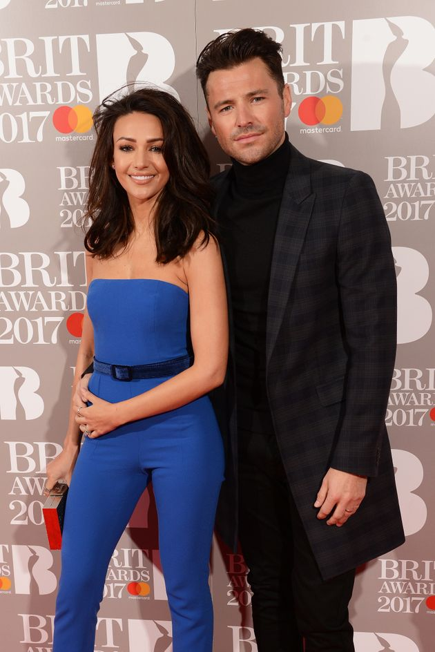 Michelle and Mark at the Brit Awards in