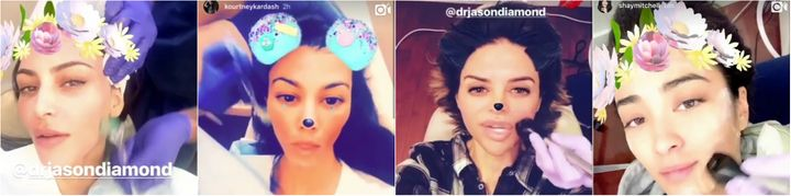 <p><strong>Diamond Face Institute featured on Snapchat</strong></p>