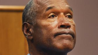 Former professional football player O.J. Simpson listens during a parole hearing at Lovelock Correctional Center in Lovelock, Nevada, U.S., on Thursday, July 20, 2017. Simpson has been granted parole nine years into a 33-year sentence and could be released as soon as Oct. 1. Photographer: Jason Bean/Pool via Bloomberg