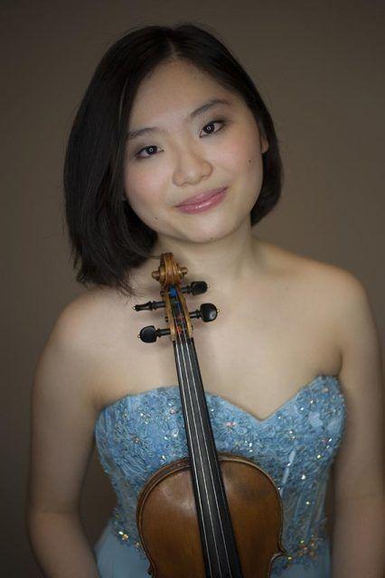 Violinist Momo Wong