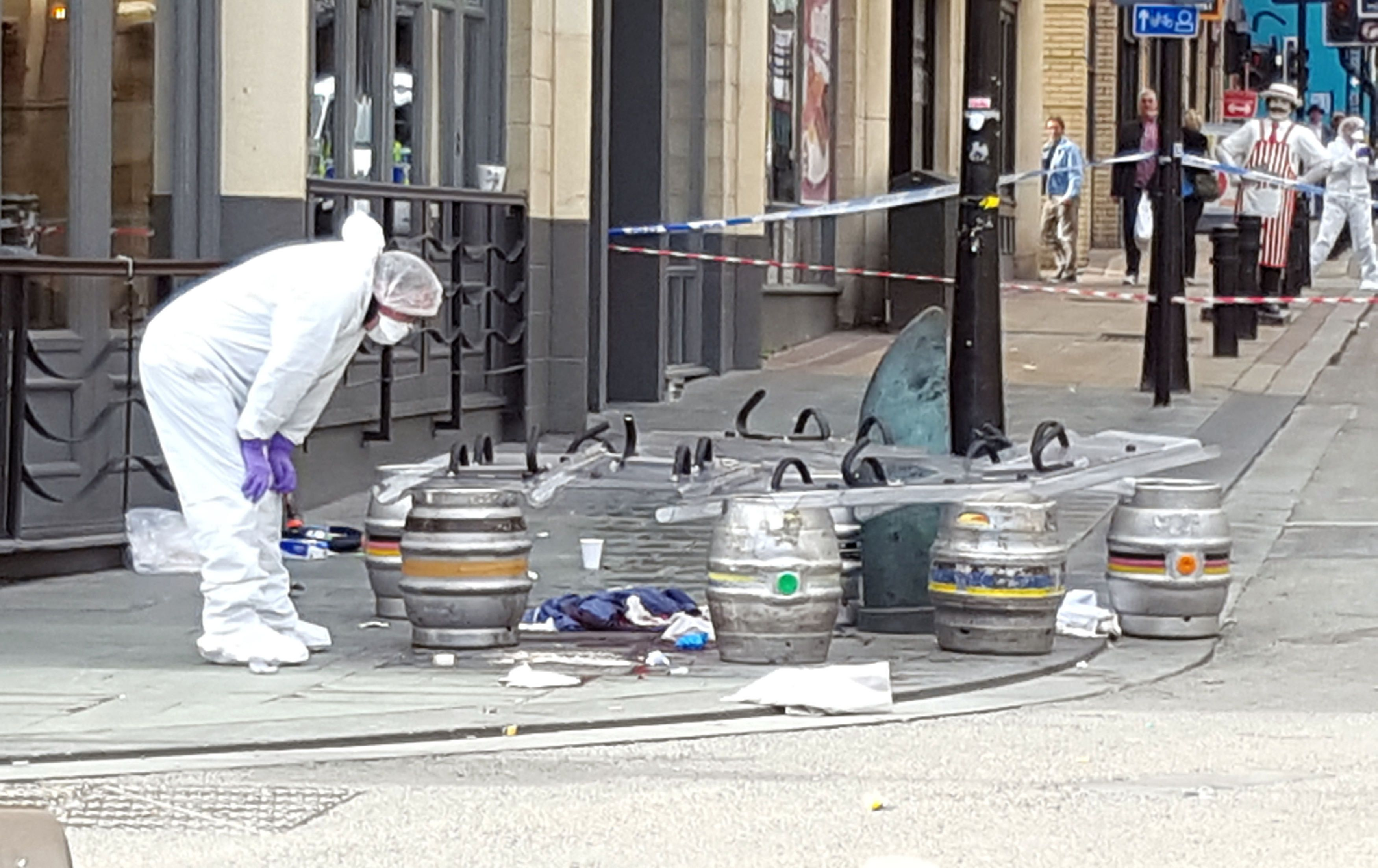 Sheffield stabbings: Five people knifed in city centre attack