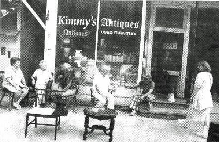 Kimmy's Antiques (currently the Hurleyville Market)