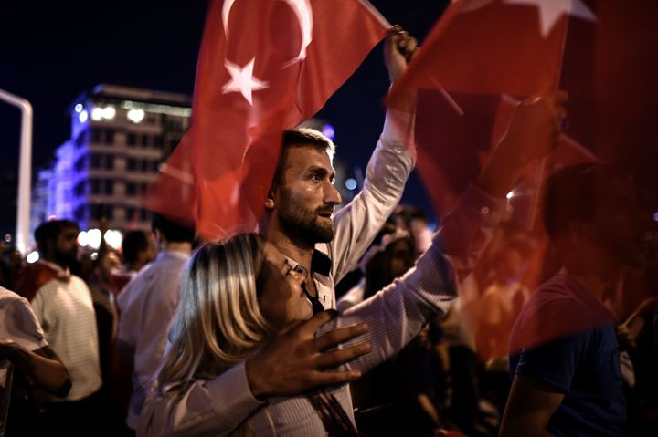 As they watched the chaos unfold in Turkey, many Cypriots were reminded of the chaos in their own country exactly 42 years before.