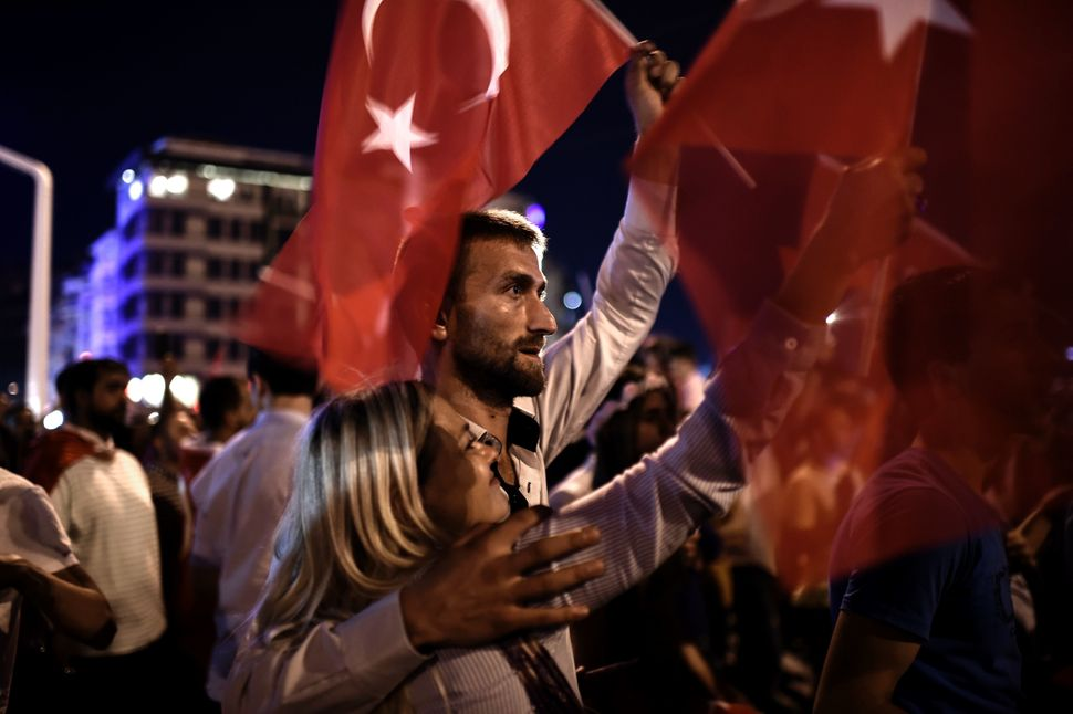As they watched the chaos unfold in Turkey, many Cypriots were reminded of the chaos in their own country exactly 42 years be