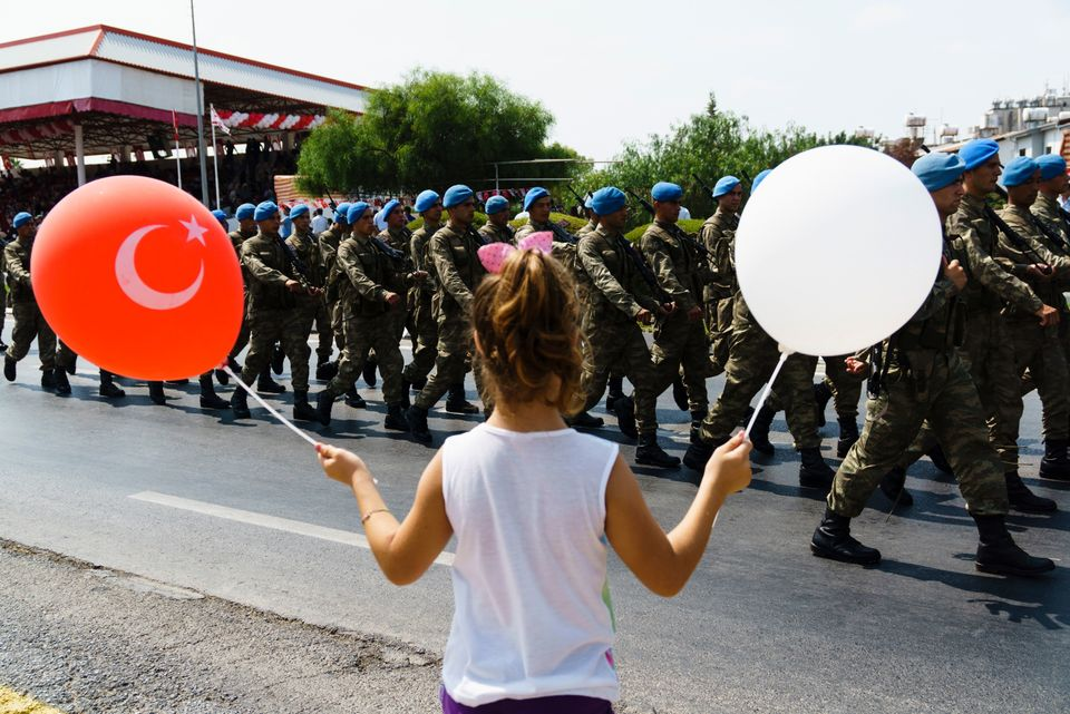 The presence of Turkish troops, who came during the turmoil of 1974, are a source of contention...