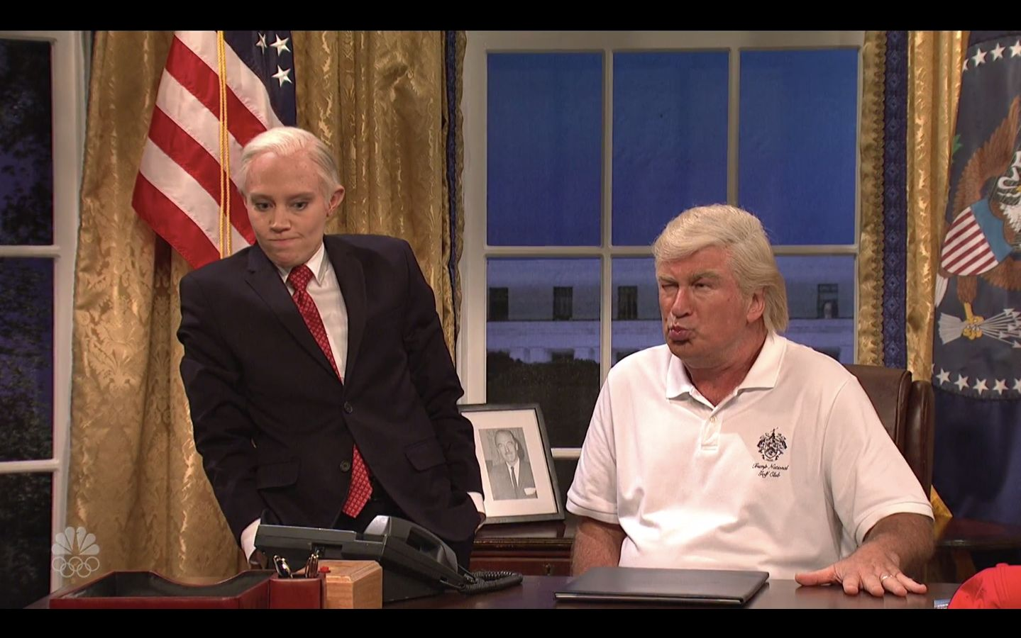 'SNL' Does Its Best To Catch Up On A Summer Of Trump