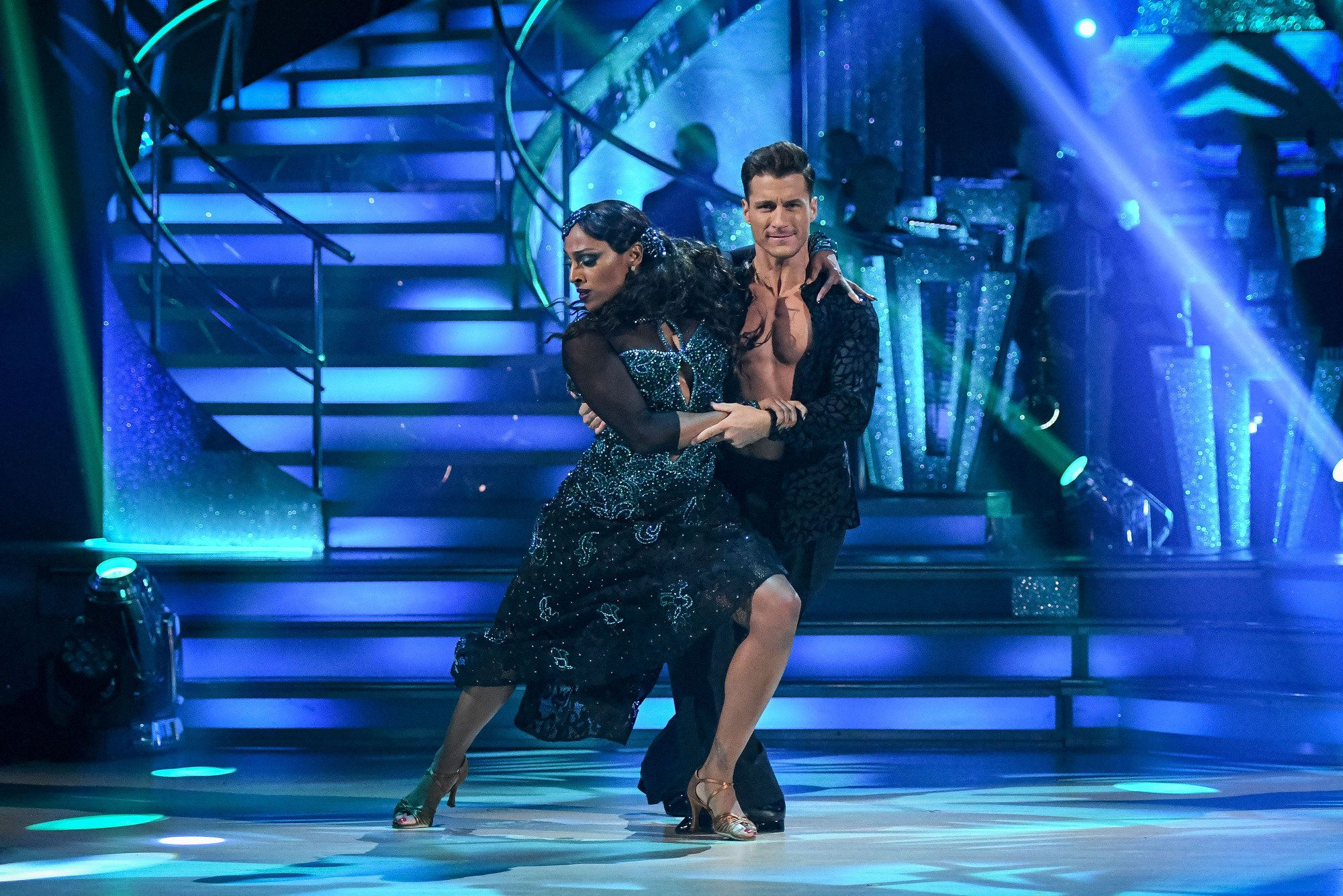 Alexandra Burke Steals The Show As 'Strictly' Live Shows Continue, While Charlotte Hawkins