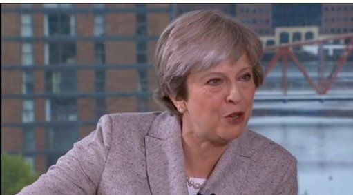 Theresa May on the BBC's Andrew Marr