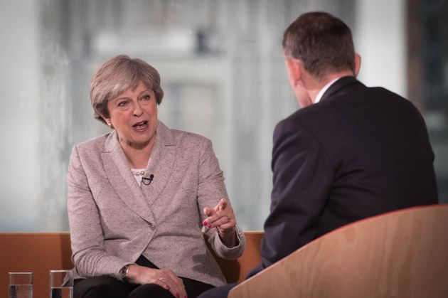 Theresa May on the Andrew Marr