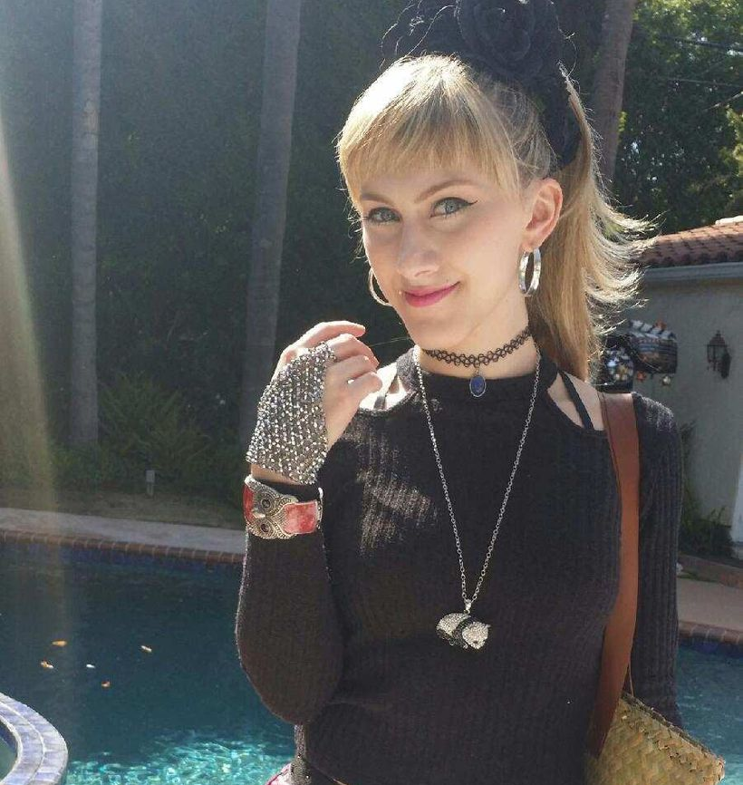 Tara-Nicole Azarian wearing BECCA TEPPER JEWELRY FROM THE SUITE