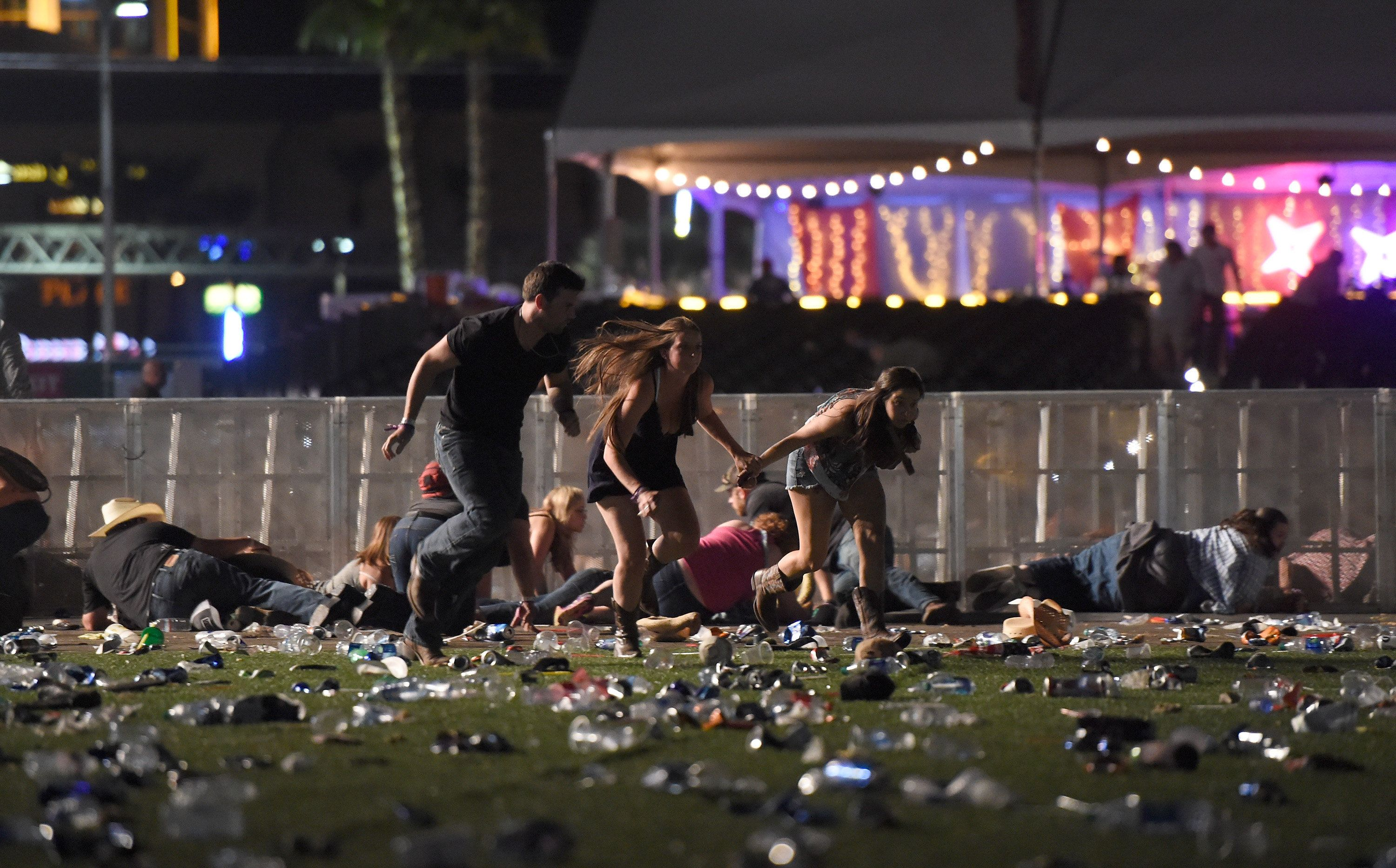 Danley's sister claims Paddock sent her away not to disrupt attack
