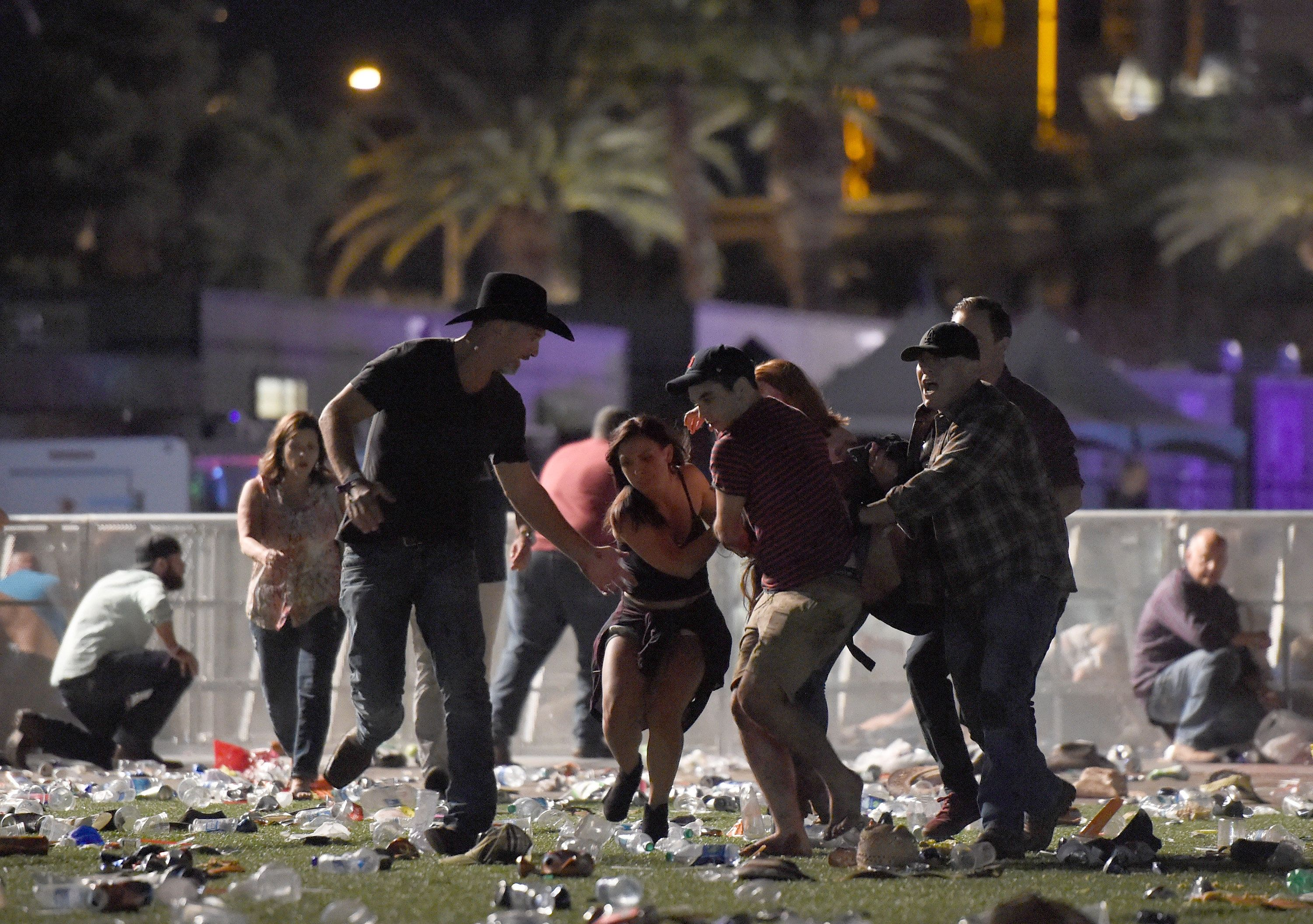 Shooting At Las Vegas Music Festival Kills Dozens Of