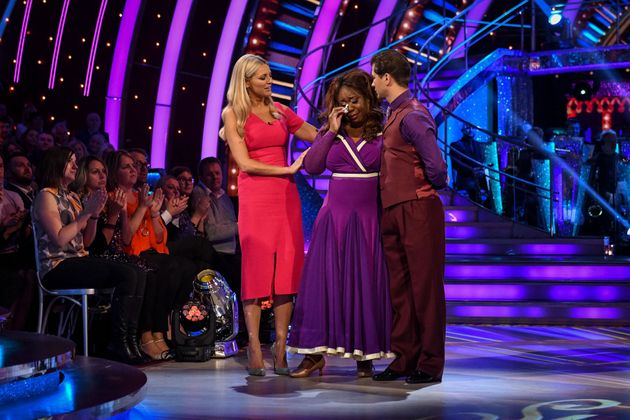 Chizzy Akudolu was tearfully voted off during Sunday's results