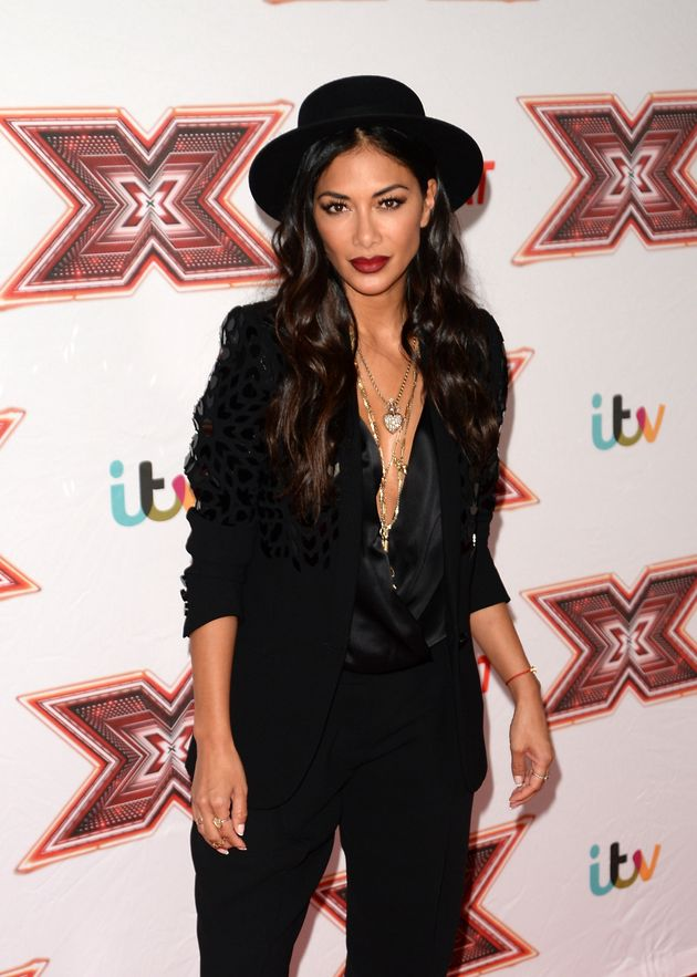 Nicole at the 'X Factor' launch over the