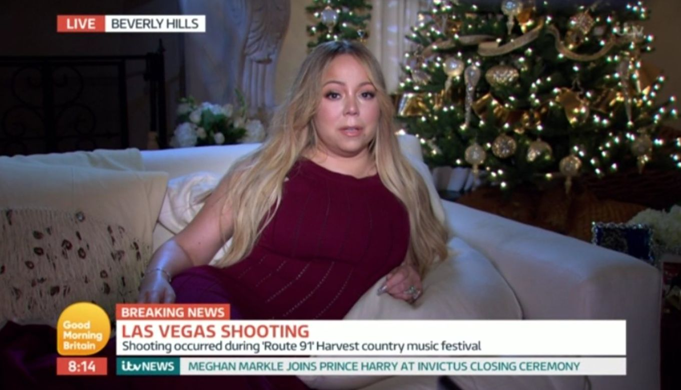 'Good Morning Britain' Criticised For Mariah Carey Interview About Vegas