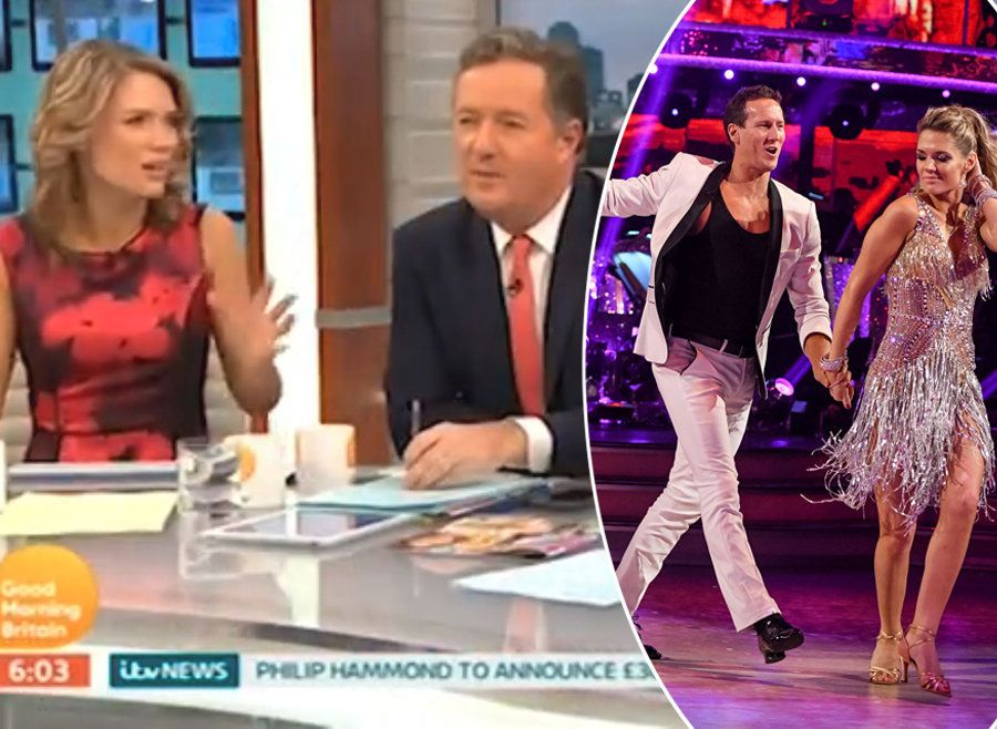 Piers Morgan Roasts Charlotte Hawkins Over 'Horrifying' 'Strictly Come Dancing'