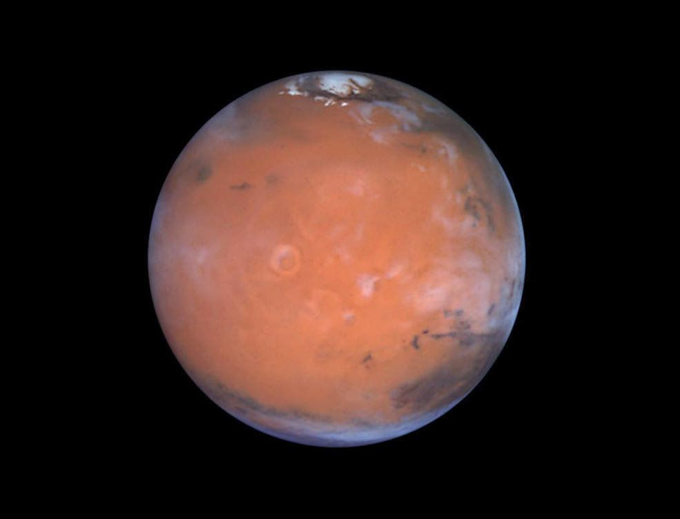 Scientists Discover Ice On Mars Where It Shouldn't