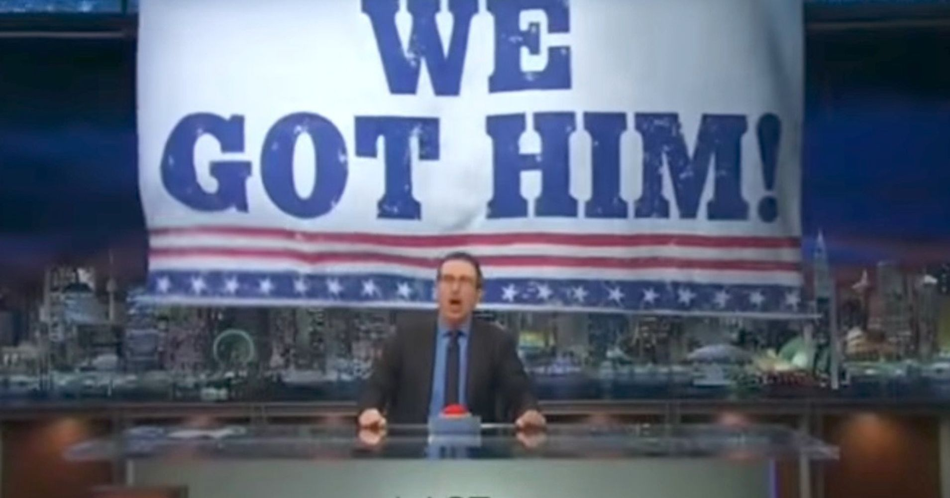 John Oliver Calls Out 'Horribly Racist' Trump, Then ...