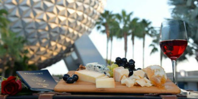 The Epcot International Food & Wine Festival is one of many reasons foodies should visit Orlando in October.