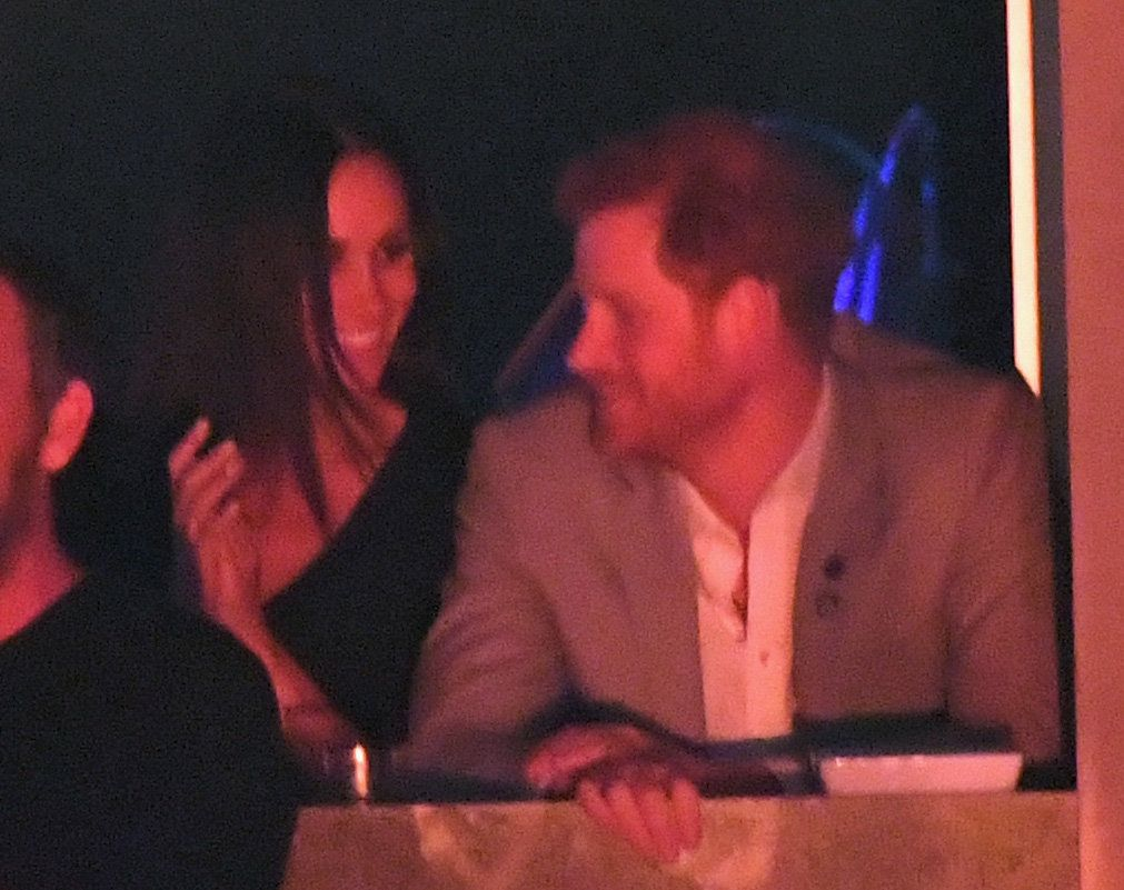 TORONTO, ON - SEPTEMBER 30:  Meghan Markle and Prince Harry are seen on day 8 of the Invictus Games Toronto 2017 on September 30, 2017 in Toronto, Canada.  The Games use the power of sport to inspire recovery, support rehabilitation and generate a wider understanding and respect for the Armed Forces.  (Photo by Karwai Tang/WireImage)