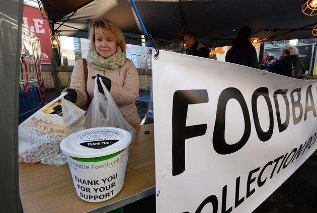 Foodbank use is growing across the