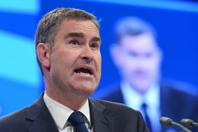Work and Pensions David Gauke addresses the Conservative Party Conference has refused to pause the rollout...