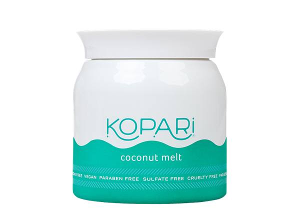 """Kopari's Coconut Melt is just that -- 100% pure, organic coconut oil that's """"so pure it's absurd."""" It's vegan, phthalate-free"""