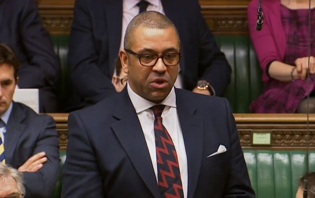 """Conservative MP James Cleverly told HuffPost UK that Boris Johnson is an """"unbelievably clever"""