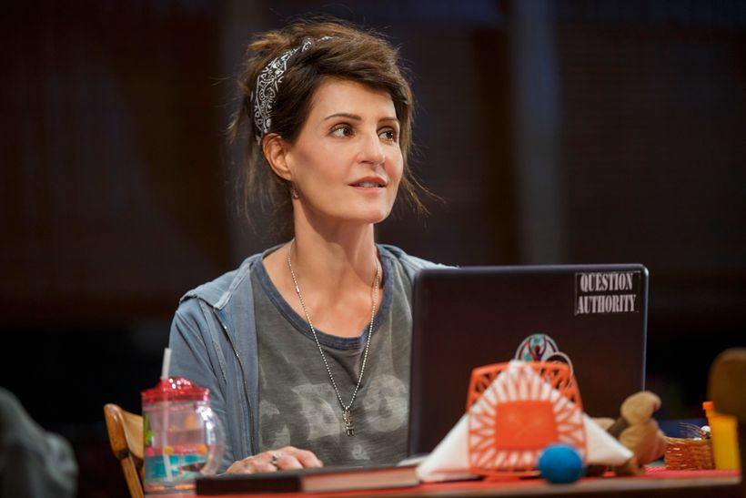 Nia Vardalos in <em>Tiny Beautiful Things</em>