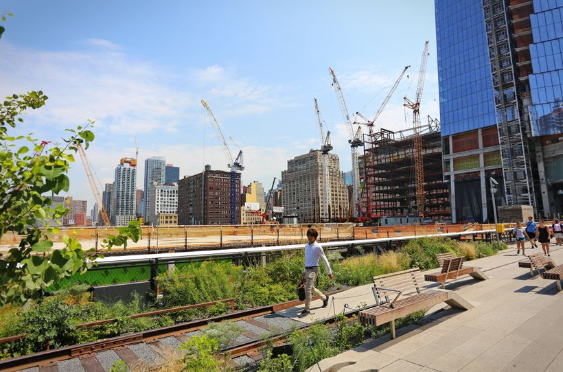 The High Line has faced challenges spurring inclusive prosperity in the surrounding neighborhood.