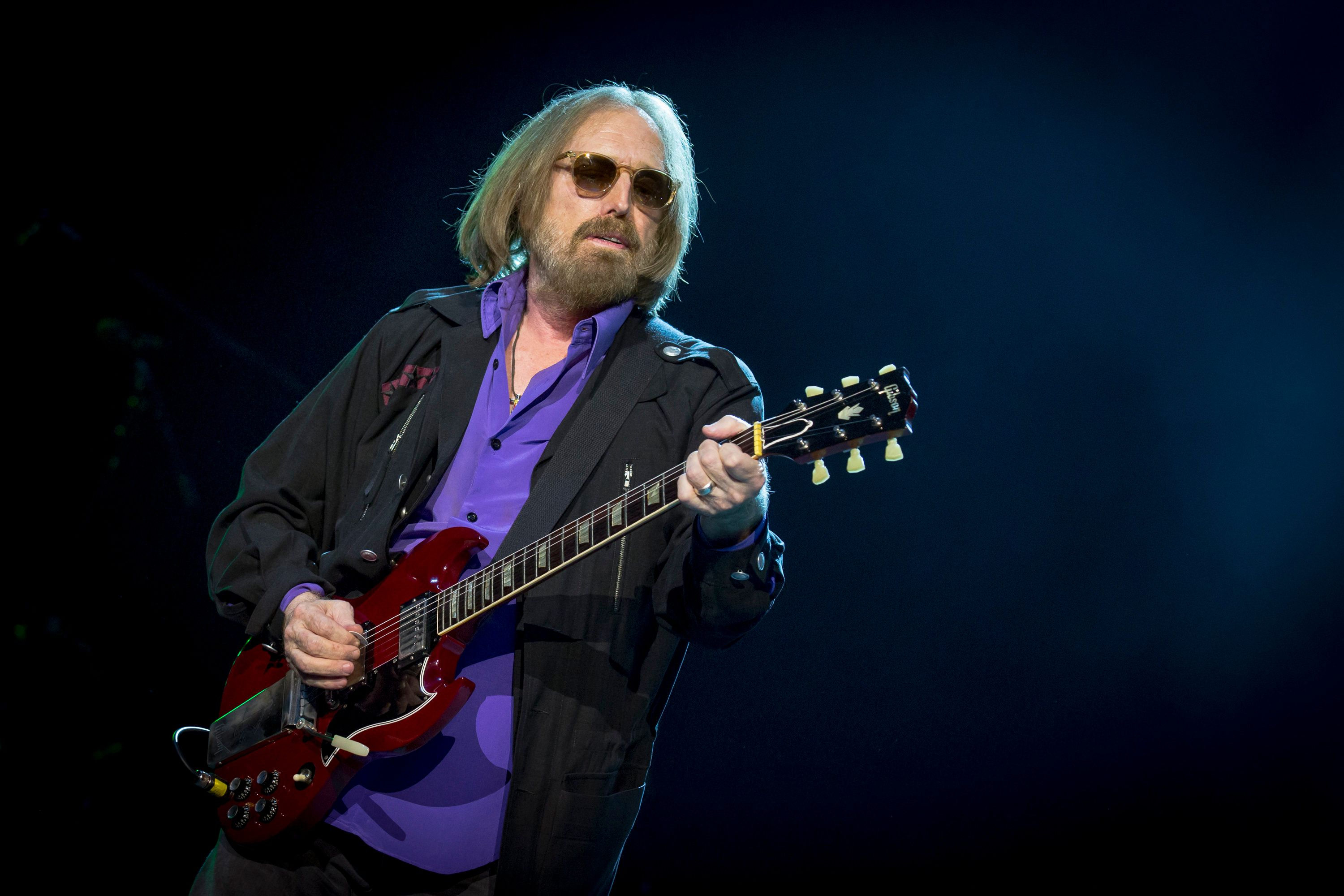 OTTAWA, ON - JULY 16:  Tom Petty of Tom Petty And The Heartbreakers performs on Day 10 of the RBC Bluesfest on July 16, 2017 in Ottawa, Canada.  (Photo by Mark Horton/Getty Images for ABA)