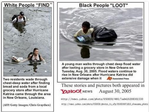 Find black people