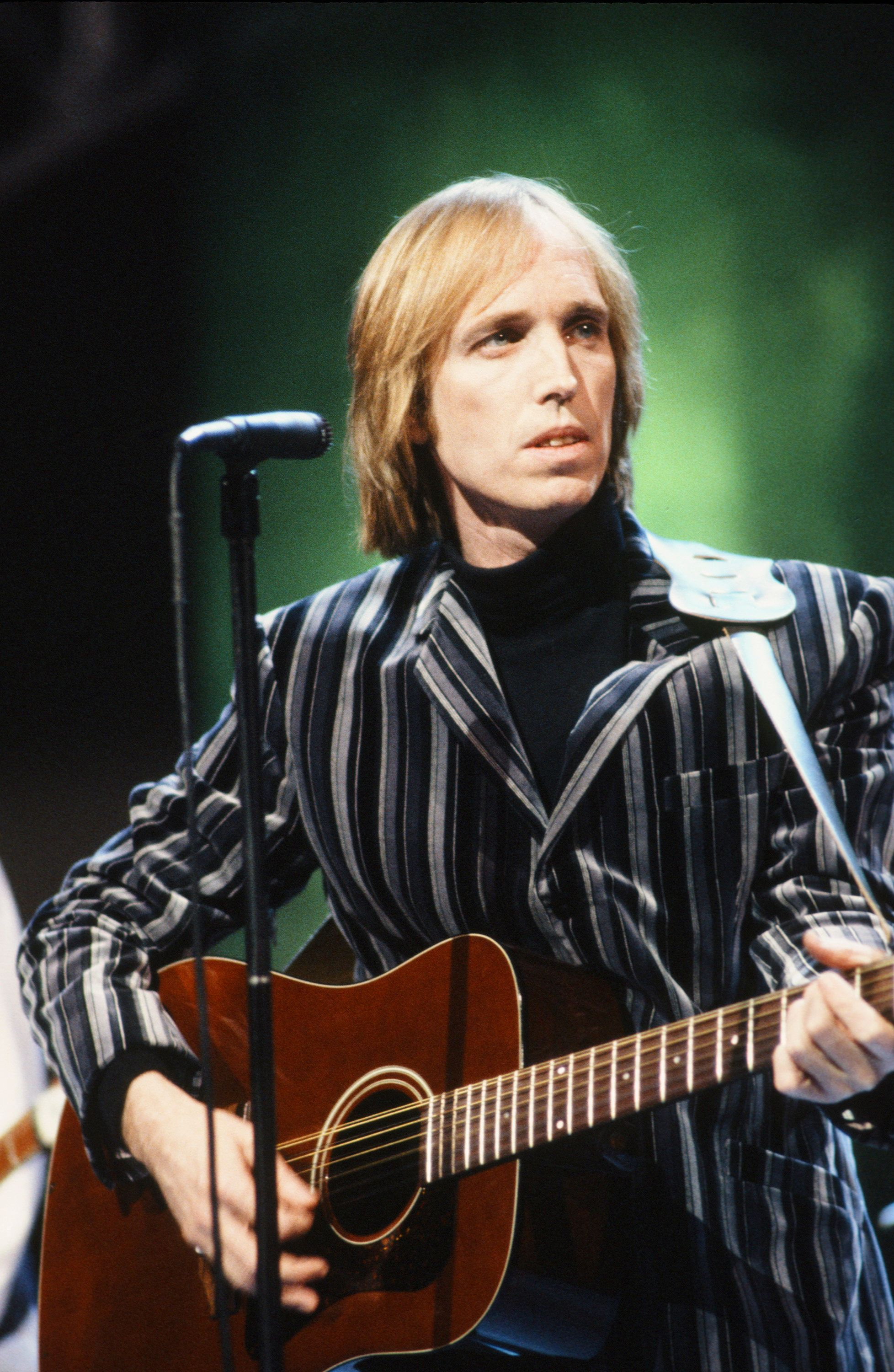 Tom Petty performing in February