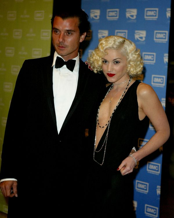 With Gavin Rossdale at the 2003 Presentation of the 18th Annual American Cinematheque Award on Nov. 14, 2