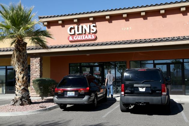 Guns & Guitars, a gun shop, where suspected Las Vegas gunman Stephen Paddock allegedly purchased