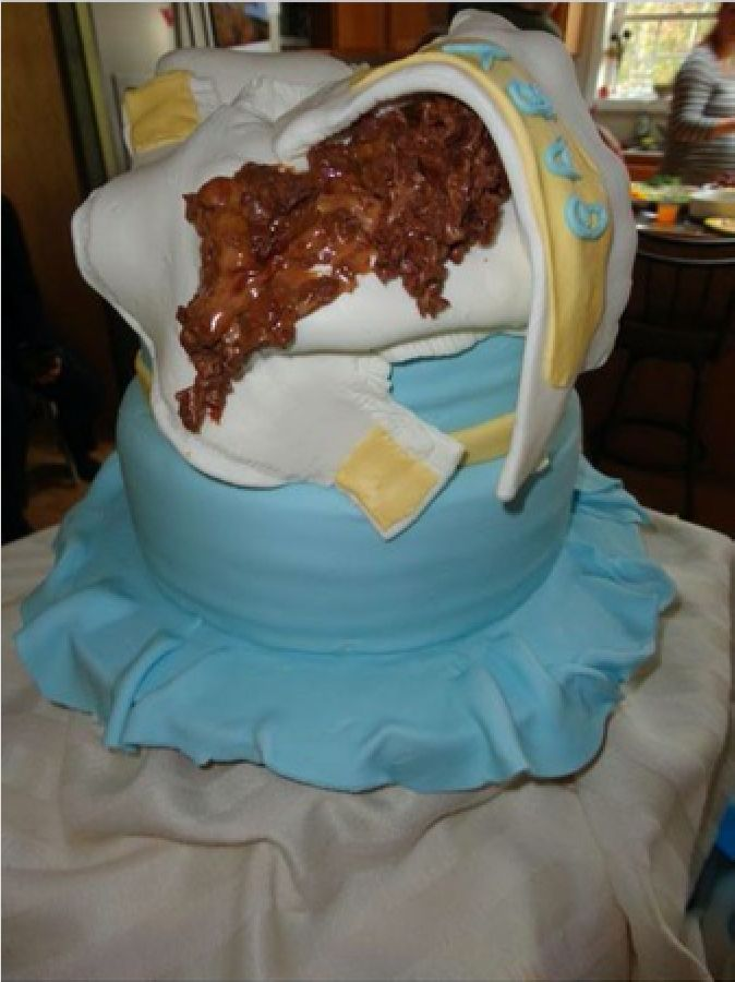 Parents Are Horrified By This Baby Shower Cake, So Could You Eat