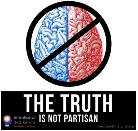 """Image highlighting that the truth is not partisan (Created by Lexie Holliday for <a rel=""""nofollow"""" href=""""http://intentionalin"""